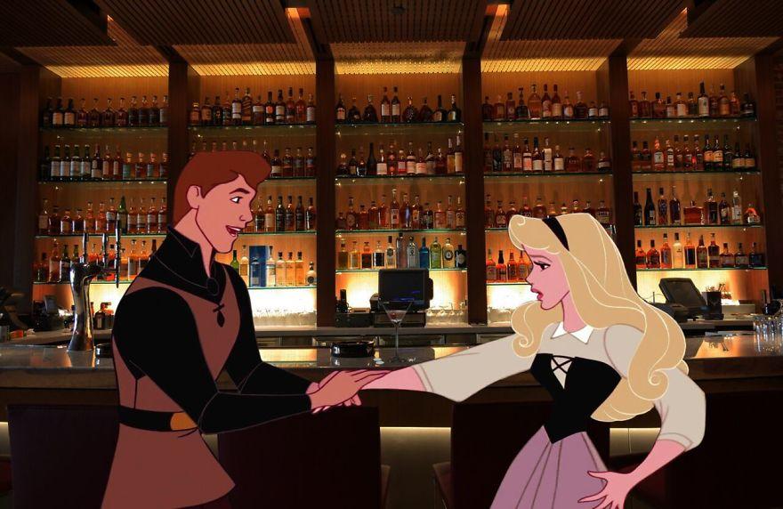 Иллюстратор поместил героев мультиков Disney в суровую реальность ?