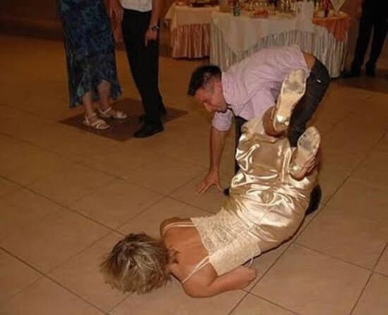 Неожиданные и удивительные свадебные фото
