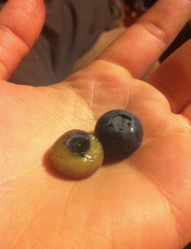 Без кожуры привычные фрукты уже не такие аппетитные ?