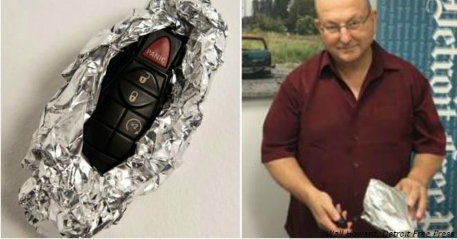 Агент ФБР рассказал, почему заворачивает в фольгу ключи от машины. Вы тоже так будете!