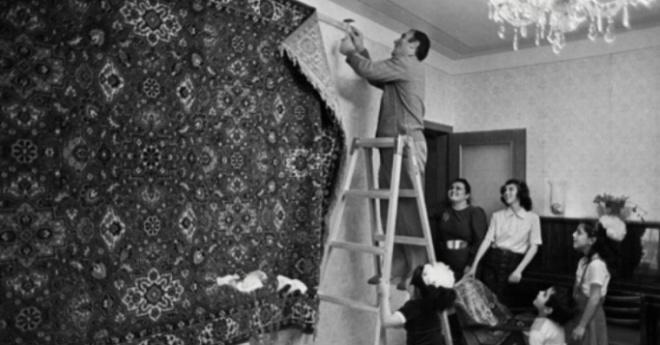 Почему на самом деле в СССР люди вешали на стены ковер