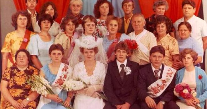 Какой была свадебная мода 80-х годов: шик, блеск и красота!