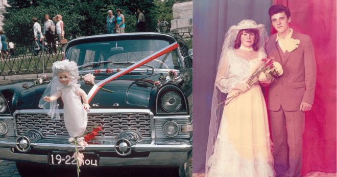 16 свадебных советских фотографий