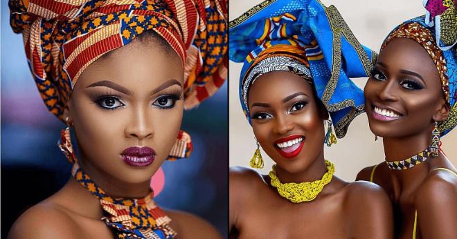 Невероятно красивые африканские девушки, которые завораживают своей необычной красотой