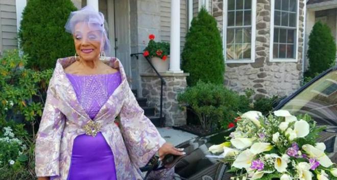 86-летняя женщина решила выйти замуж и восхитила всех своим свадебным нарядом: просто нет слов