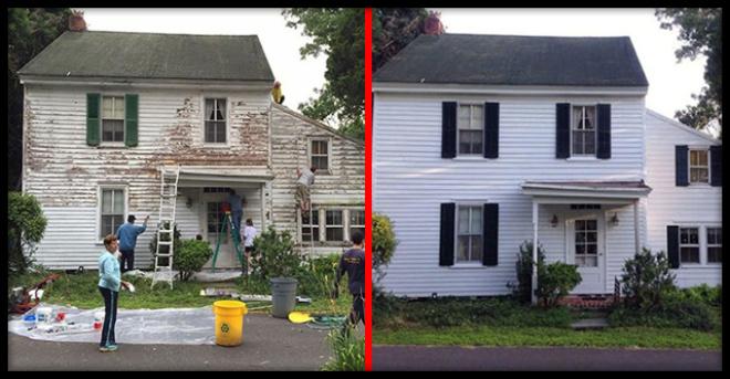 В США соседи отремонтировали дом пенсионерки, чтобы скрасить ее старость
