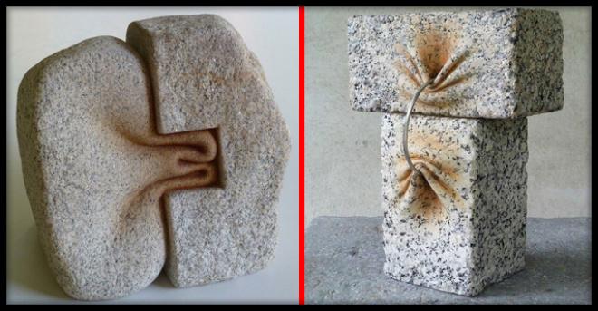 Испанец научился мять камни и теперь от поклонников нет отбоя