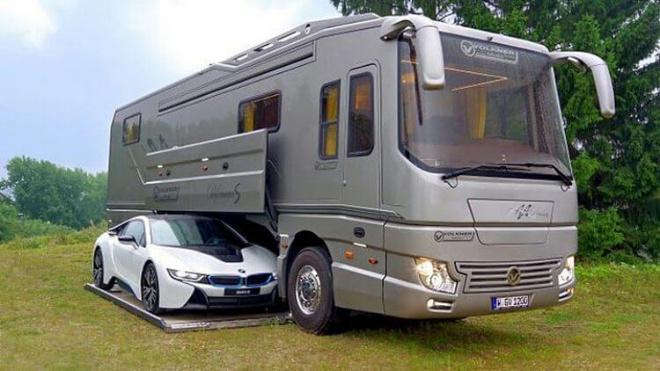Volkner Mobil Performance: самый роскошный дом на колесах. Только загляните вовнутрь!