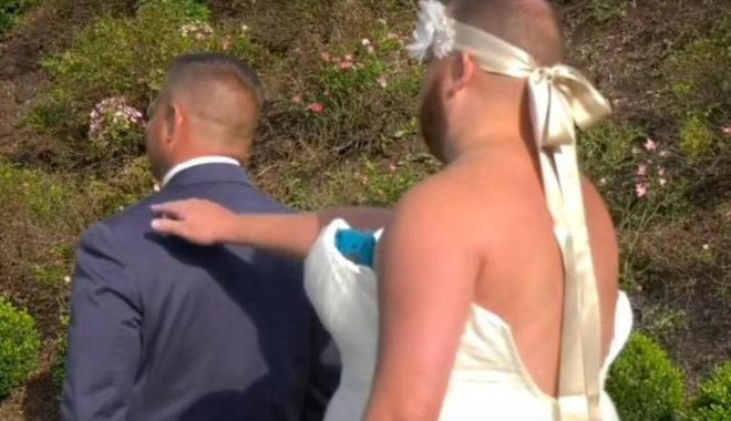 Невеста креативно разыграла жениха на свадьбе