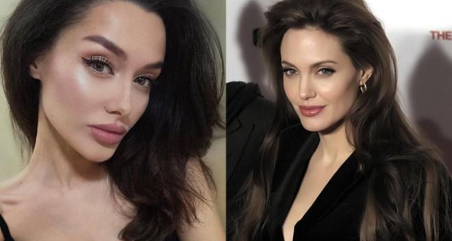 5 фото девушки с Кавказа, которая очень похожа на Анджелину Джоли