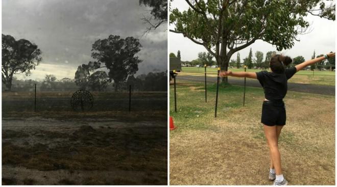 Да будет дождь! В пылающей Австралии прошли сильные ливни
