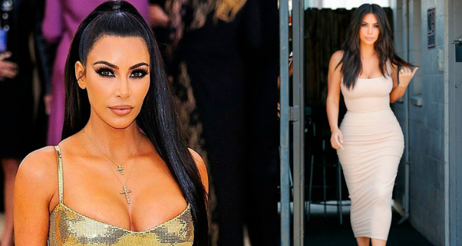 Вот так выглядит в реальности идеальная фигура Ким