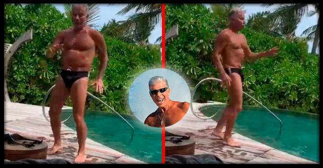 «Наш ответ танцующему миллионеру»: 68-летний Газманов станцевал в плавках у бассейна