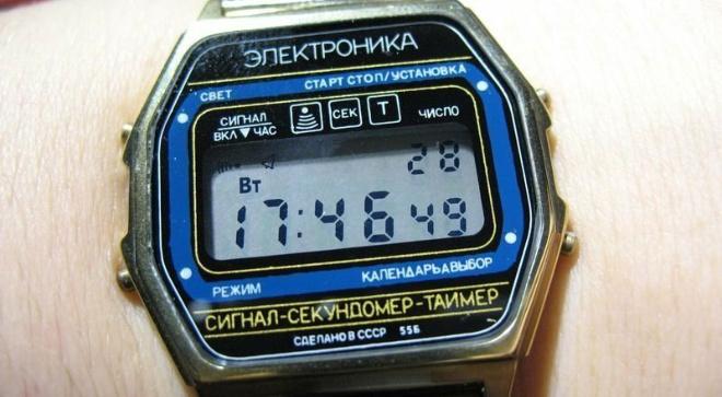 Про советские часы «Электроника»