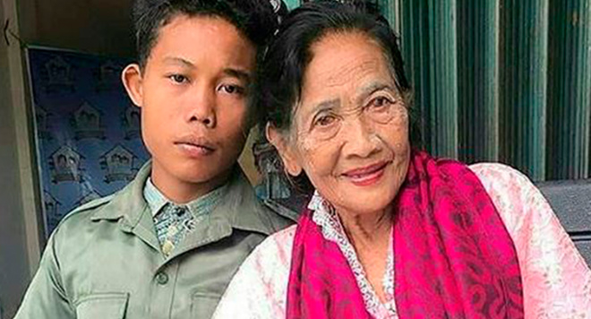 Ему — 16 лет, ей — 71: Вот как выглядит брак с разницей в 55 лет!
