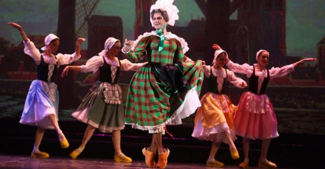 """1 600 000 просмотров: """"Танец в сабо"""" от Цискаридзе"""
