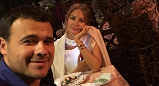 Эмин Агаларов воссоединился с бывшей женой в Дубае
